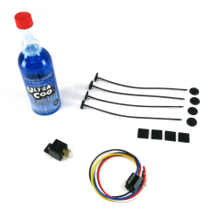 Fan Cooling Kit: Harness, Relay, Mounting Ties & Performance Additive - Part Number: ZIRFANPACK