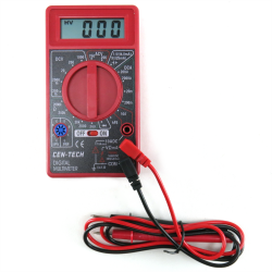 7 Function Digital Volt Meter Testing Tool - Part Number: KICDVM