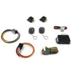 8 Function 40 amp Remote Relay Kit  - Part Number: AUTSVPRORK40