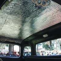 sound barrier, heat barrier, sound deadener, heat reflecting barrier, car interior parts,