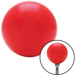 Red Shift Knob with Set Screw Insert - Part Number: ASCSNX121728