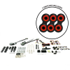 Universal Power Window Kits With Black Retro Billet Switches - Part Number: 10145086