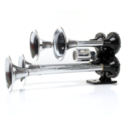 Habanero 4 Trumpet High Output Train Horn with Valve - Part Number: TRGH166