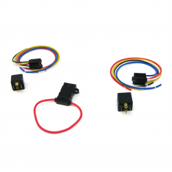 Automatic AC Fan Activation Relay Kit - Part Number: KICHARN13