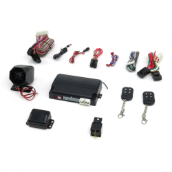 Stellar Alarm with Remote Start - Part Number: STESTRS9750