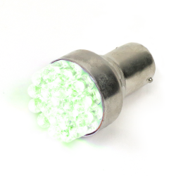 Super Bright Green 1157 Led 12v Bulb - Part Number: 1157LEDG