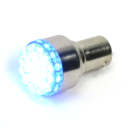Super Bright Blue 1156 Led 12v Bulb - Part Number: 1156LEDB
