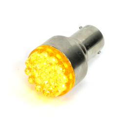 Super Bright Yellow 1156 Led 12v Bulb - Part Number: 1156LEDY