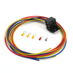 Universal High Output Relay with Plug N Play Harness - Part Number: KICHARN19