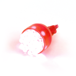 Super Bright Red 3157 Led 12v Bulb - Part Number: 3157LEDR