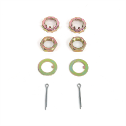 Helix™ Mustang II Spindle Nut & Washer Kit - Part Number: HEXHWWS2
