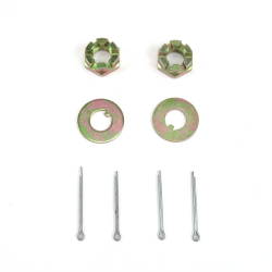 Helix™ Early Ford Spindle Nut and Washer Kit - Set - Part Number: HEXHWWS3