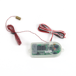 Digital Adjustable Temp Control Switch with Thread In Sensor - Part Number: ZIRZFSDG2