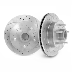 "Helix SureStop 11"" 5x5 Drilled Slotted Rotors 1/2"" lugs- Pair - Part Number: HEXBR11F"