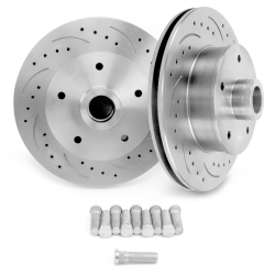 "Helix SureStop 11"" GM 79-81 ""Metric"" Drilled Slotted Rotors - Pair - Part Number: HEXBR14"