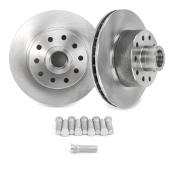"Early Ford 11"" Standard Brake Rotor with 5x4.5 Ford Bolt Pattern - 1 Pair - Part Number: HEXBR9"