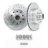 "Helix SureStop Drilled and Slotted 11"" 5 Bolt Mustang II Rotors GM and Ford Bolt Pattern - Part Number: HEXBR8"