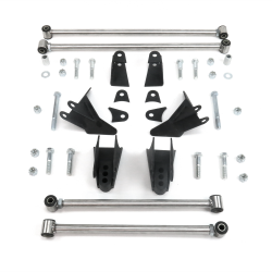 Chevy Tahoe 2000 - 2006 Heavy Duty Triangulated 4-Link Kit - Part Number: HEXA3DB4E