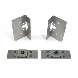 Large Bear Claw Door Latch Install Kit - Part Number: AUTBCINSTL