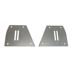 Mustang II Lower Air Bag Bracket Plate ~ Pair - Part Number: HEXBRK049