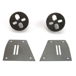 Helix Mustang II Front Air Bag Bracket Kit - Part Number: HEXSHXABB31