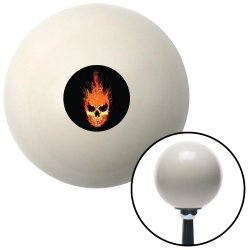 Up In Flames Skull Shift Knobs - Part Number: 10262546