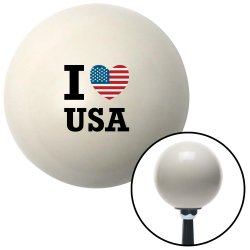 I Heart USA Black Shift Knobs - Part Number: 10262860