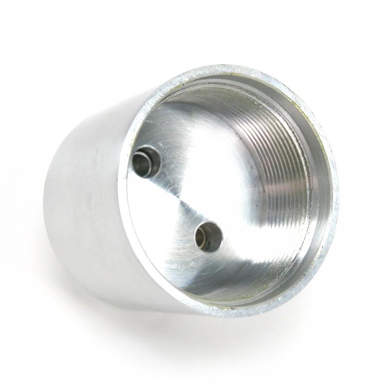 AutoLoc Power Accessories 9875 Mirror Finish Billet Brake Fluid Reservoir with Brackets