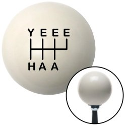 YeeeHaa 6 Speed RUR Shift Knobs - Part Number: 10294113