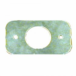 Autoloc Door Popper Plate Rectangular - Part Number: AUTDPPR