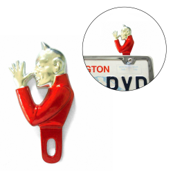 El Diablo Tall Devil License Plate Topper - Part Number: VPALPT005