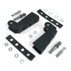 Helix Shock Relocation Kit with Brackets - Part Number: HEXSHXR6