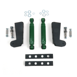 Helix Shock Relocation Kit with Brackets and Shocks - Part Number: HEXSHXR1