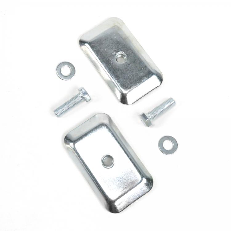 2pt Black Standard Buckle Retractable Lap Seat Belt w// Flat Plate Hardware hot