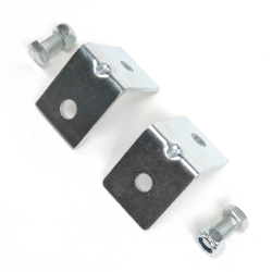 Angled Seat Seat Belt Anchor Plate Hardware Pack - Part Number: STBSBHPA