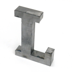 """L"" Metal Letter - Part Number: VPALSARL"
