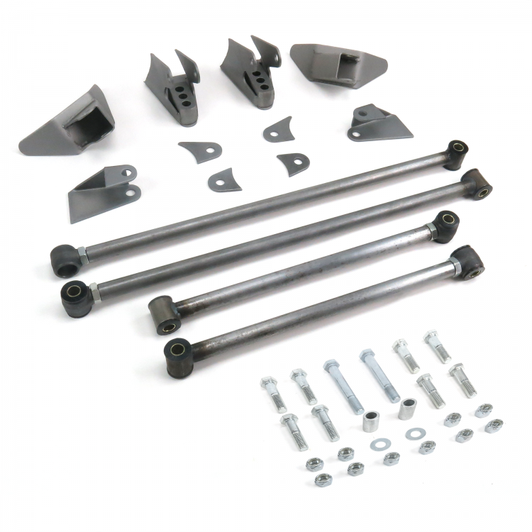 Chevy Nova 1968 - 1974 Heavy Duty Triangulated 4-Link Kit