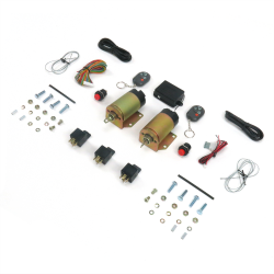 4 function 50 lbs remote shaved door popper kit. Black Bedroom Furniture Sets. Home Design Ideas