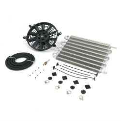 "15"" Oil Cooler & 9"" Fan Kit - Part Number: ZIRYFC815B9K"