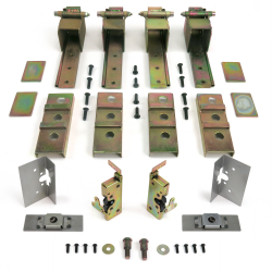 2 Door Individual Suicide Hidden Hinge System - Part Number: AUTSDS1