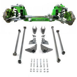 Complete Stage 2 56.5 Mustang II IFS And Triangulated 4-Link Combo Kit - Part Number: HEXIFSTTK13K