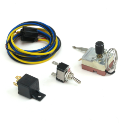 Adjustable Temp Control with Over-Ride Switch - Part Number: ZIRZFSWAK3