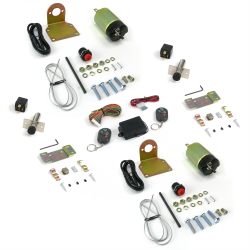 60-108 lbs Remote Shaved Door Popper Kit with Poppers - Part Number: AUTSVPRO54K