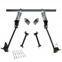 Triangulated Rear 4-link w/ Coilovers 40 1940 Ford Roadster - Standard, Deluxe 