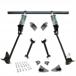 Triangulated Rear 4-link w/ Coilovers 33 1933 Model 40 Pickup