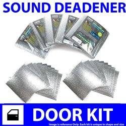 Heat & Sound Deadener for 01-04 Corvette ~ 2 Door Kit - Part Number: ZIR9D4751