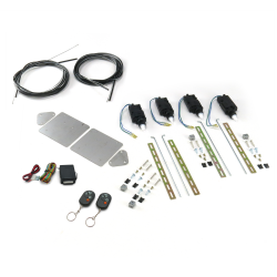 Universal Bolt On Shave Door Kit with Remote - Part Number: AUTSVBCBK8