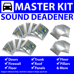 Heat & Sound Deadener for Early Desoto ~ Master Kit - Part Number: ZIR7661F