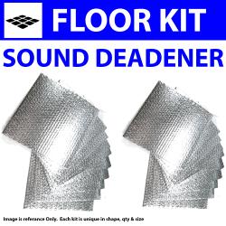 Zirgo 314546 Heat and Sound Deadener for 68-74 Torino ~ Floor Kit