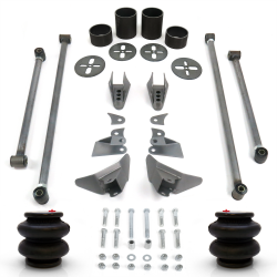 Triangulated 4 Link Kit with 2600 lb Air Bags & Brackets - Part Number: HEXTTK4AIR